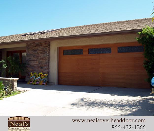 Neals custom garage doors contemporary garage doors for Garage door repair lake forest