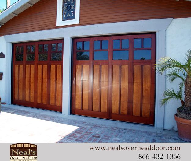 16 X 14 Overhead Garage Door Has Ingenious Design To: Craftsman Style Custom Garage Doors, Designs And