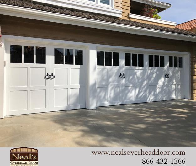 Craftsman Style Custom Garage Doors Designs And Installation Southern California Orange County