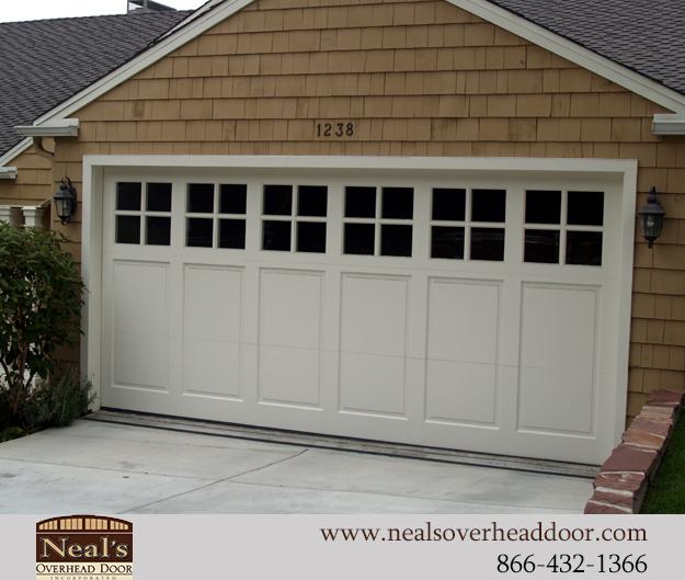 Garage door craftsman style garage doors inspiring for Garage style kitchen window