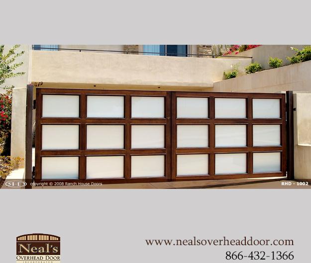 Custom Wood Gates: Neals Custom Wood Gates, Designers And Installation