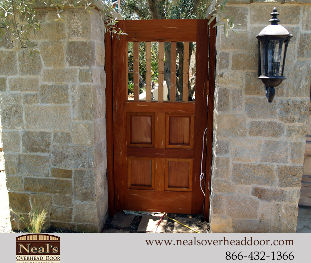Neals Custom Wood Gates Designers And Installation