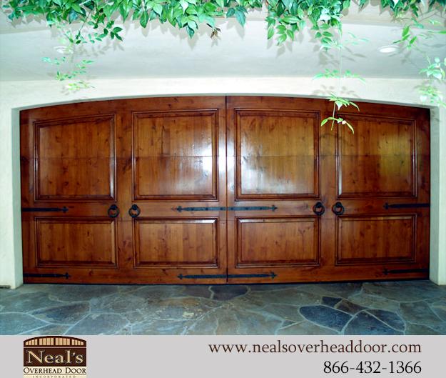 Spanish Style Custom Garage Doors Designs And