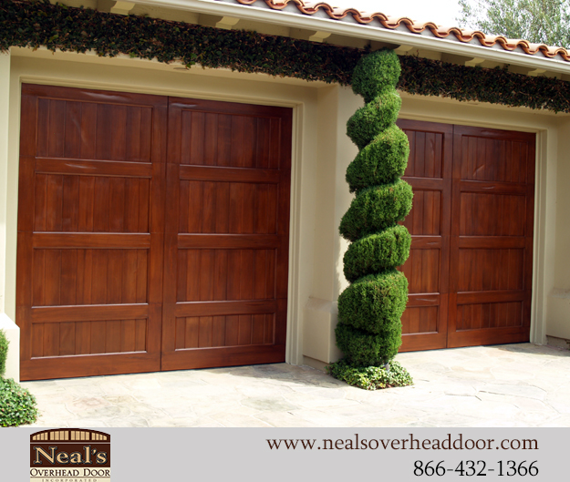 Spanish Style Custom Garage Doors Designs And