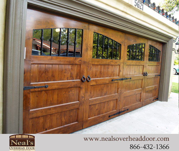 Tuscan Style Custom Garage Doors Designs And Installation Southern California Orange County