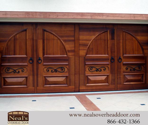 25 Awesome Garage Door Design Ideas: Tuscan Style Custom Garage Doors, Designs And Installation